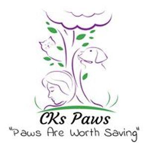 CKs Paws - Paws Are Worth Saving Inc. Logo