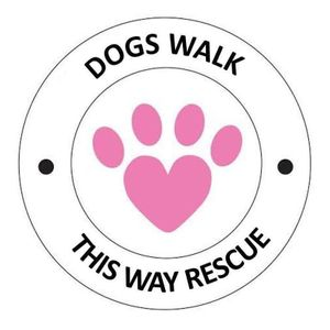 Dogs Walk This Way Rescue Logo