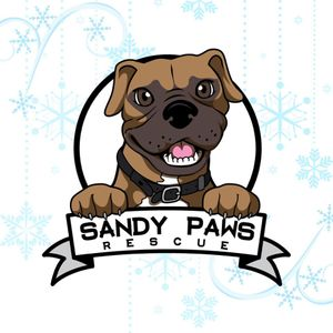 Sandy Paws Rescue Inc. Logo