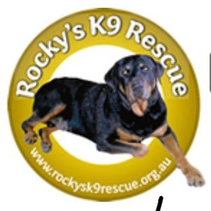 Rocky's K9 Rescue Logo