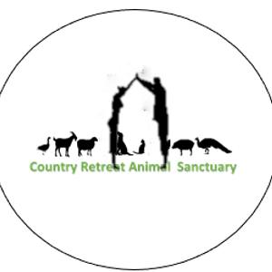 Country retreat animal sanctuary Logo