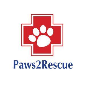 Paws2Rescue Logo