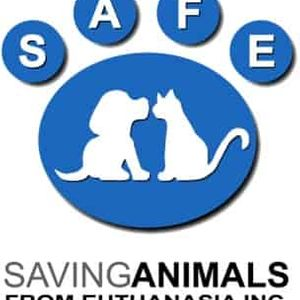 SAFE - Saving Animals From Euthanasia Incorporated Logo