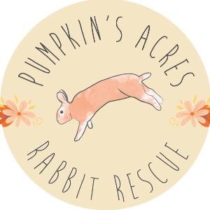 Pumpkin's Acres Rabbit Rescue Logo