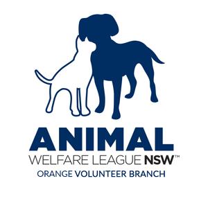 Animal welfare league orange Logo