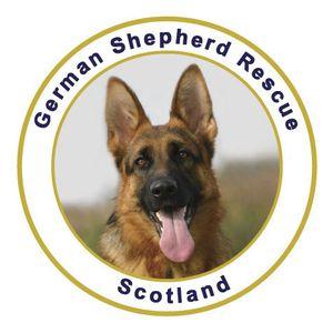 German Shepherd Rescue Scotland Logo