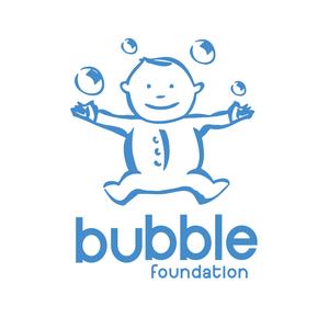 The Bubble Foundation UK Logo