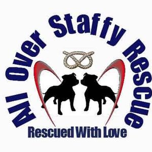 All Over Staffy Rescue Logo