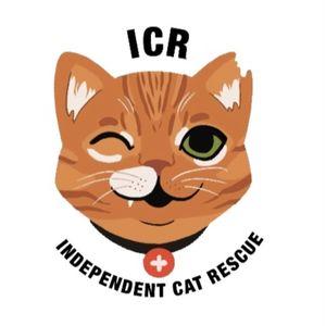ICR Independent Cat Rescue Logo