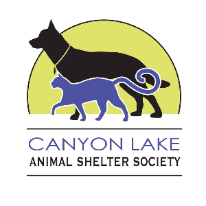 Canyon lake animal shelter Logo