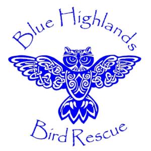 Blue Highlands Bird Rescue Logo