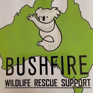 Bushfire Wildlife Rescue Support BWRS Logo