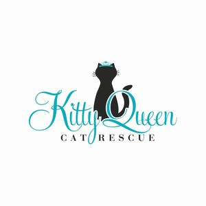 Kitty Queen Cat Rescue Logo