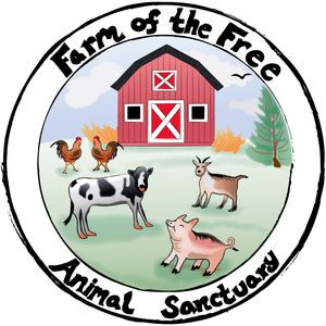 Farm of the Free Animal Sanctuary Logo