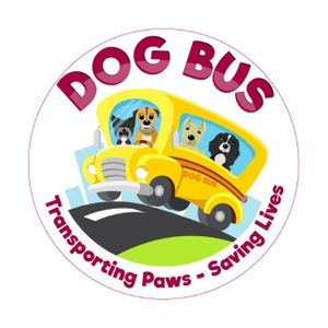 Dogbus Transporting Paws saving lives Logo