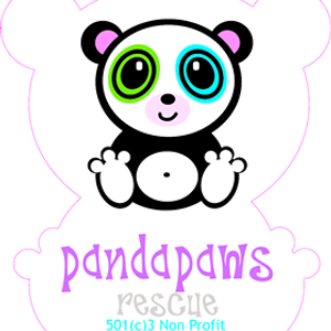 Panda Paws Rescue Logo