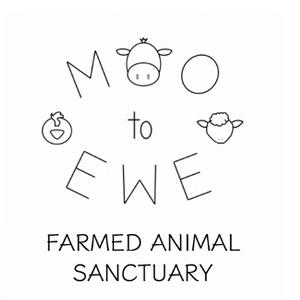 Moo To Ewe Farmed Animal Sanctuary Logo