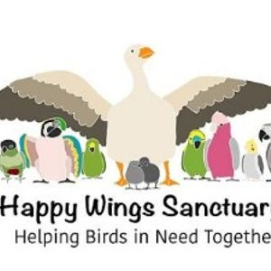 Happy Wings Sanctuary, Inc. Logo