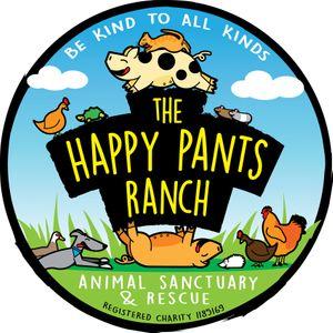 The Happy Pants Ranch animal & rescue sanctuary Logo