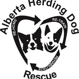 Alberta (AB) Herding Dog Rescue Logo