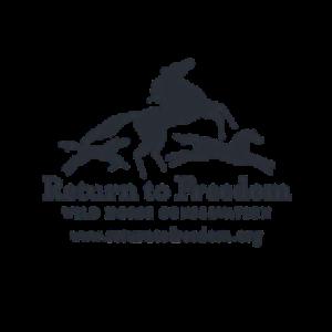 Return To Freedom, Wild Horse Conservation Logo