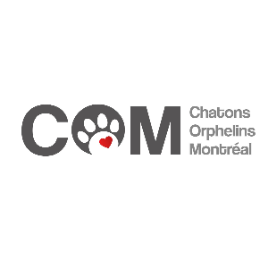 Chatons Orphelins Montreal - COM rescue Logo