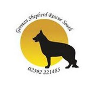 German shepherd rescue south Logo