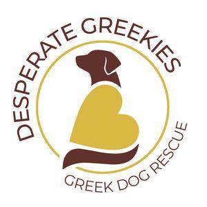 Desperate Greekies Greek Dog Rescue Logo