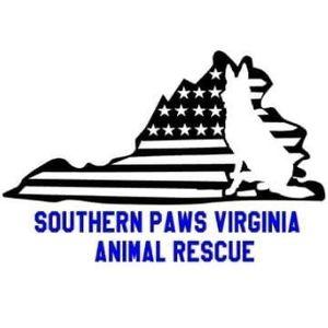 Southern paws Virginia animal rescue Logo