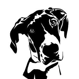 Woah Nellie Great Dane Rescue Logo
