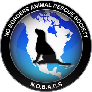 No Borders Animal Rescue Society (NOBARS) Logo