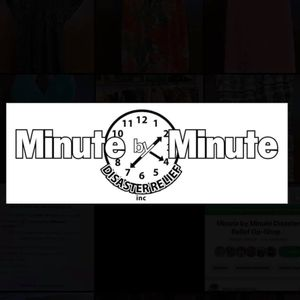 Minute by Minute Disaster Relief Logo