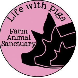 Life With Pigs Farm Animal Sanctuary Logo