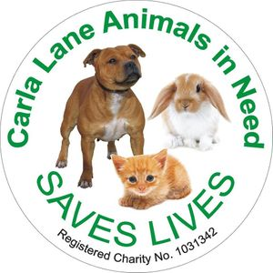 Carla Lane Animals in Need Logo