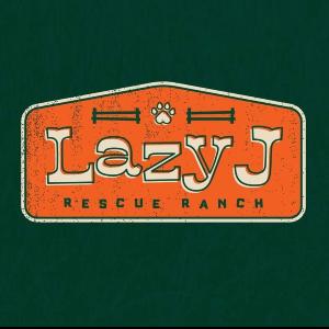 Lazy J Rescue Ranch Logo