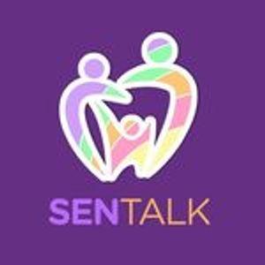 Sen Talk CIC Logo